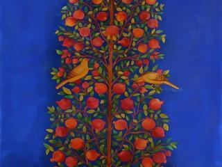 تصویر شماره دو از نمایشگاه در احاطه درختان