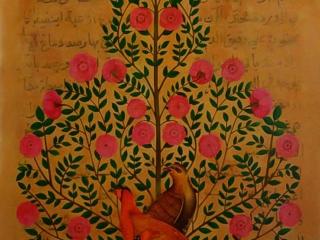 تصویر شماره سه از نمایشگاه در احاطه درختان