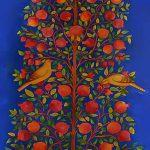 نمایشگاه در احاطه درختان | لادن بروجردی