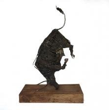 تصویر شماره دو از نمایشگاه شاخ بازی - مجسمههای عارف رودباری شهمیری