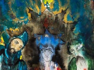 تصویر یکم از نمایشگاه هنری اسر (بدون سر، بی پایان) علیرضا آدم بکان
