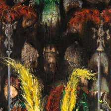 تصویر دوم از نمایشگاه هنری اسر (بدون سر، بی پایان) علیرضا آدم بکان