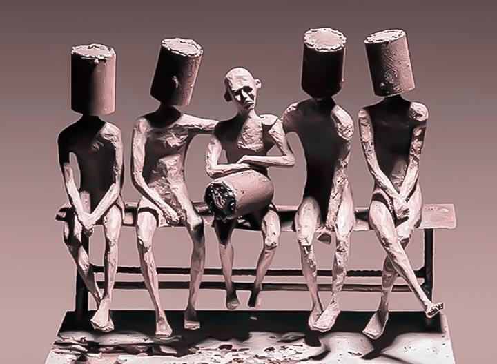 نمایشگاه عارف رودباری شهمیری با عنوان شاخ بازی در گالری سیحون 2
