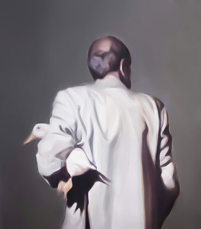 تصویر یکم از نمایشگاه هنری حد فاصل اثر پویا رضی در گالری اعتماد