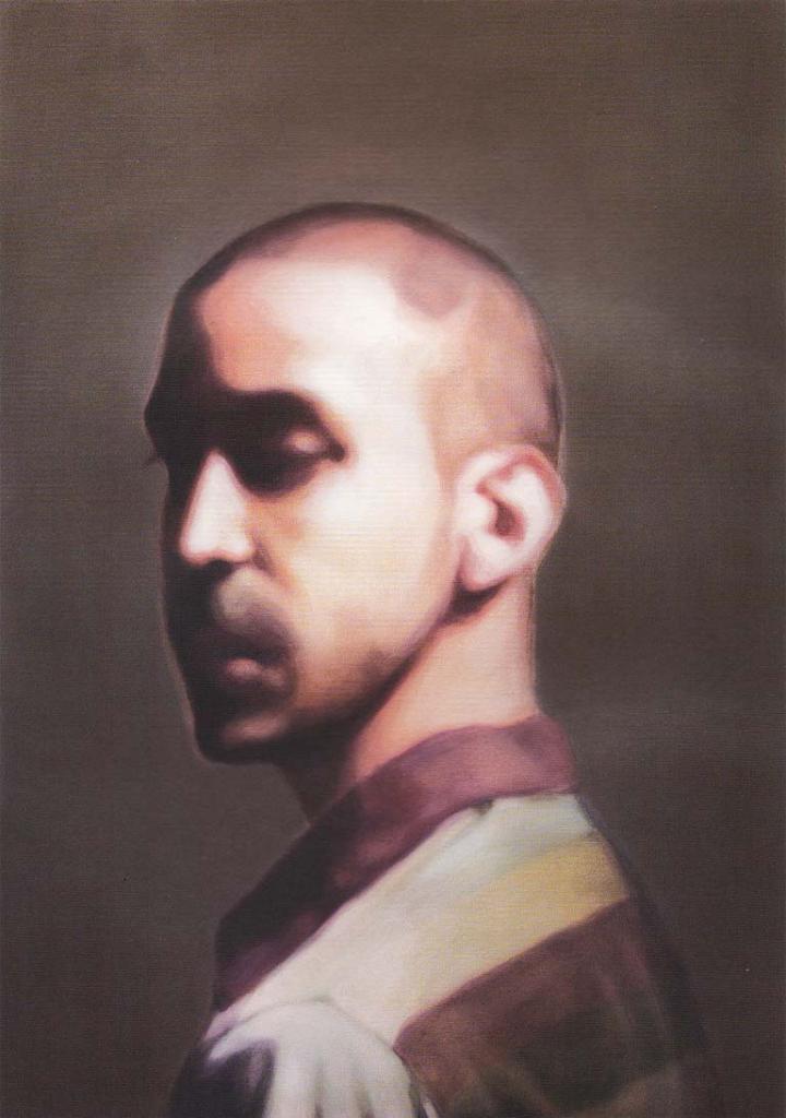 تصویر دوم از نمایشگاه هنری حد فاصل اثر پویا رضی در گالری اعتماد
