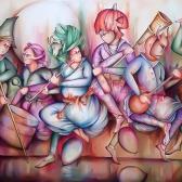 تصویر چهارم از نمایشگاه هالوین ایرانی - محمد مستاندهی