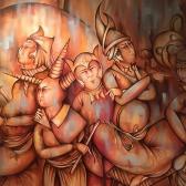 تصویر سوم از نمایشگاه هالوین ایرانی - محمد مستاندهی