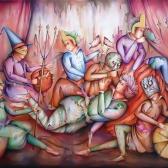 تصویر دوم از نمایشگاه هالوین ایرانی - محمد مستاندهی