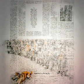 تصویر شماره دو از نمایشگاه سیم کشی روکار- ژینوس تقی زاده