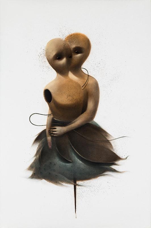تصویر یکم از نمایشگاه اسید آمینه ها - وحید چمانی