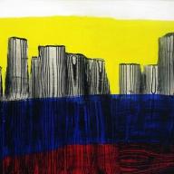 تصویر چهارم از نمایشگاه رد در سیاهی - بهجت صدر