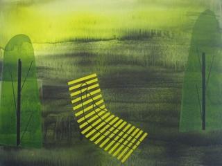 تصویر سوم از نمایشگاه رد در سیاهی - بهجت صدر