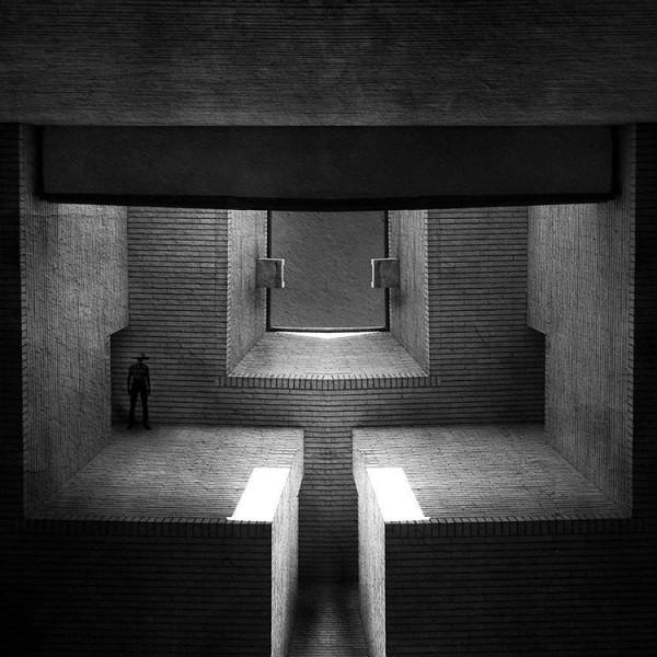 نمایشگاه فضای میانی - گالری مهروا - میلاد صفابخش - تصویر پنج