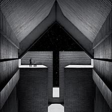 نمایشگاه فضای میانی - گالری مهروا - میلاد صفابخش - تصویر دو