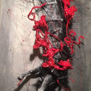 پیمان رحیمی زاده - نمایشگاه بازتاب پژوهشی در اسطوره کاوی رویداد
