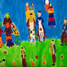 آرزوی من | نمایشگاه نقاشی گروهی کودک و نوجوان | گالری دنا