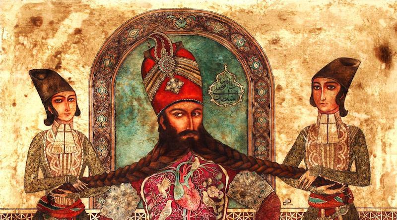 سعید خضایی | رویای من و فتحعلی میرزا | گالری سیحون ۲