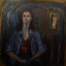 پرستو محقق - در نگاه او - گالری سبحان - اثر دو
