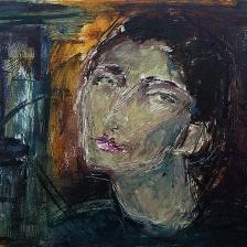 پرستو محقق - در نگاه او - گالری سبحان - اثر سه