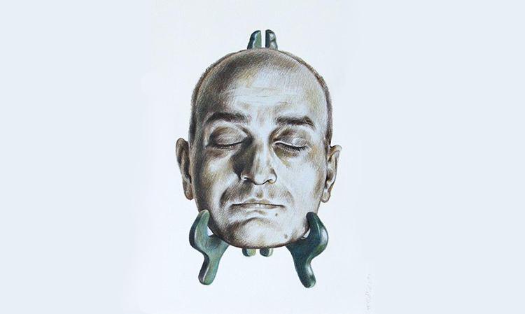 نمایشگاه «خاکستری» | وحید میرزامحمدی | گالری سیحون 1