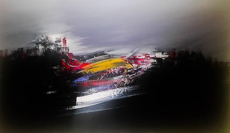 نمایشگاه اثر ایرج شایسته پور   گالری هپتا