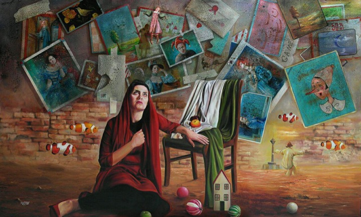 اثر جواد بیاد | artwork by Javad Beyad