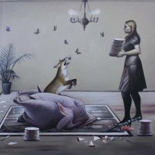اثر نزار موسوی نیا   artwork by Nazar Mousavinia