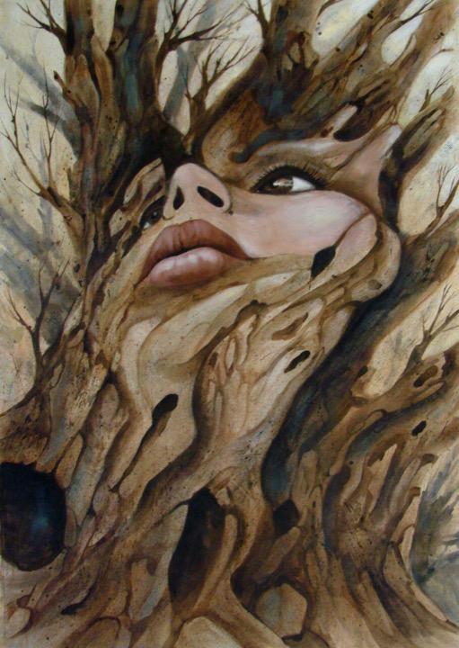اثر الهه طرقی   artwork by elaheh toroghi