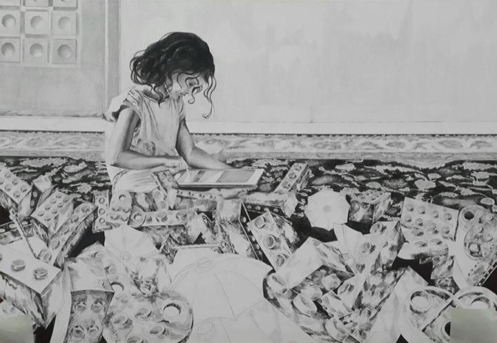 اثر فاطمه خندان در نمایشگاه گروهی «نگاهی نو، روزمرگی» | گالری نگر
