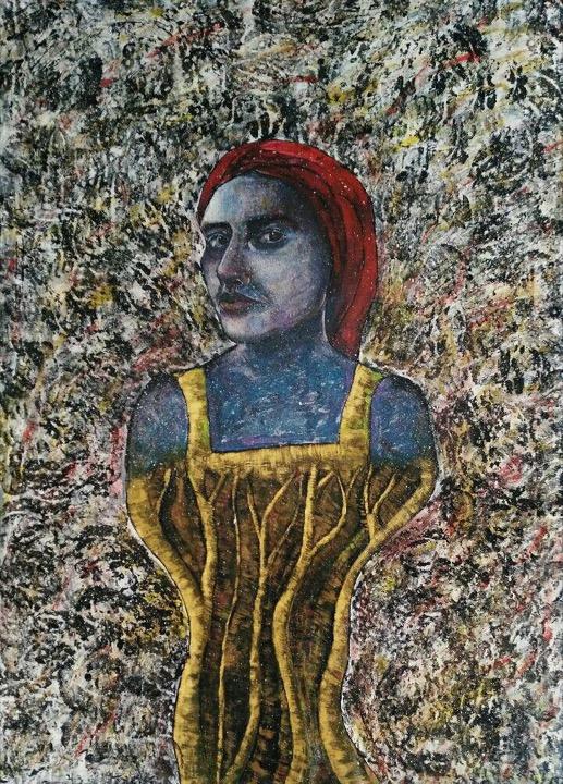 اثر فاطمه ستاره در نمایشگاه گروهی «نگاهی نو، روزمرگی» | گالری نگر
