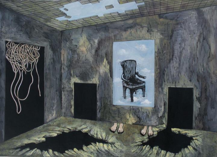 اثر بهاره خزری در نمایشگاه گروهی «نگاهی نو، روزمرگی» | گالری نگر