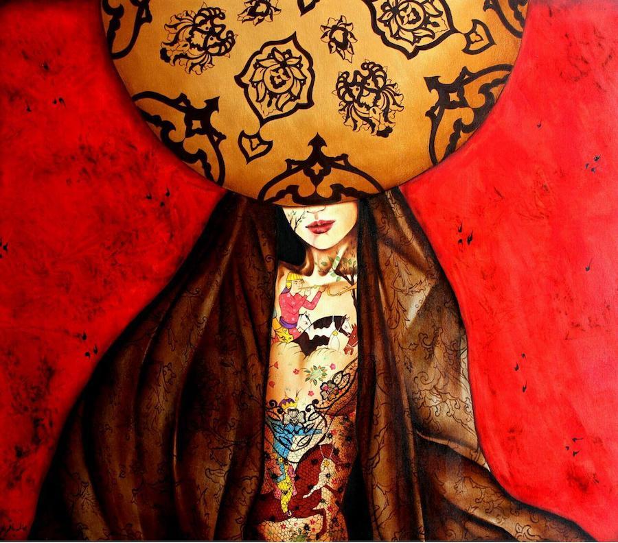 اثر عالمه باقریان   artwork by Alameh Bagherian