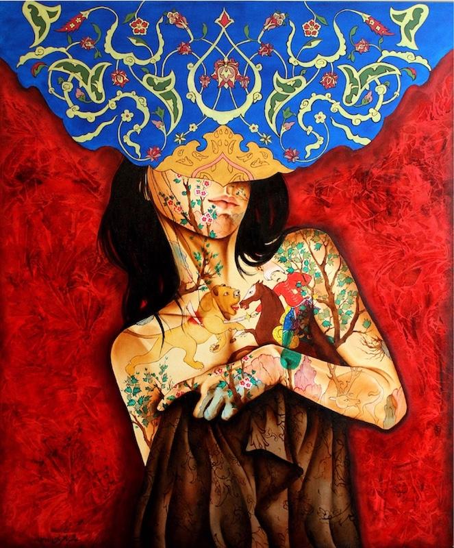 اثر عالمه باقریان | artwork by Alameh Bagherian