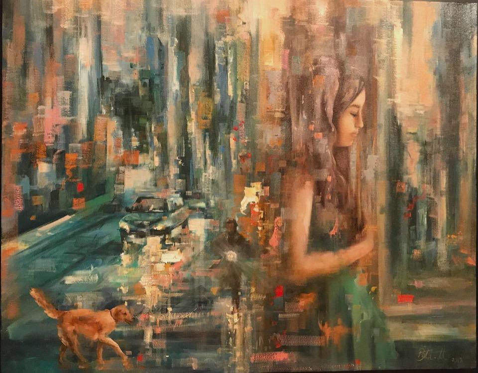 اثر سارا بی تا محبتی در نمایشگاه گروهی نقاشی «سگ» | گالری شکوه