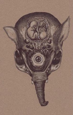اثر سپیده عابدی در نمایشگاه «سمفونی عدم» | گالری دنا