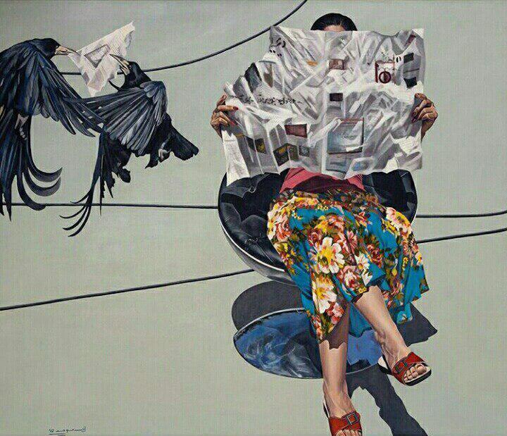 اثر زینب موحد | artwork by Zeynab Movahed