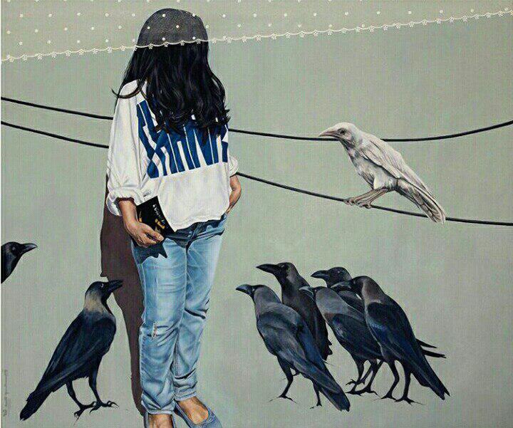 اثر زینب موحد   artwork by Zeynab Movahed