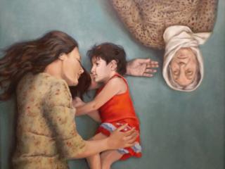 اثر فرشته آقامیری   artwork by Fereshteh Aghamiri