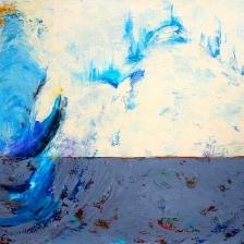 اثر آلاله امینی در نمایشگاه «اینسوی دیوار» | گالری خط سفید