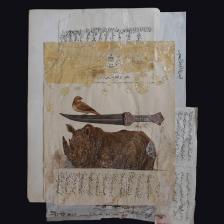 اثر میترا سلطانی   artwork by Mitra Soltani