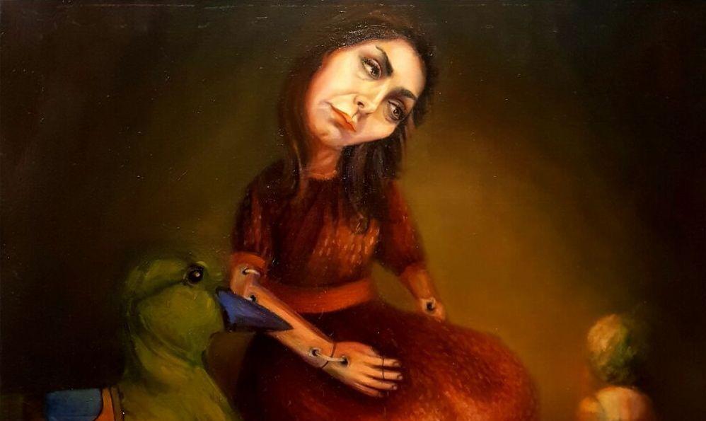 اثر شقایق سوزنکار   مونودرام   گالری ثالث