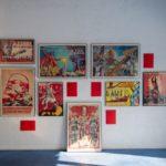 نمایشگاه «کاغذ سرخ»   گالری نبشی   مرکز نبشی