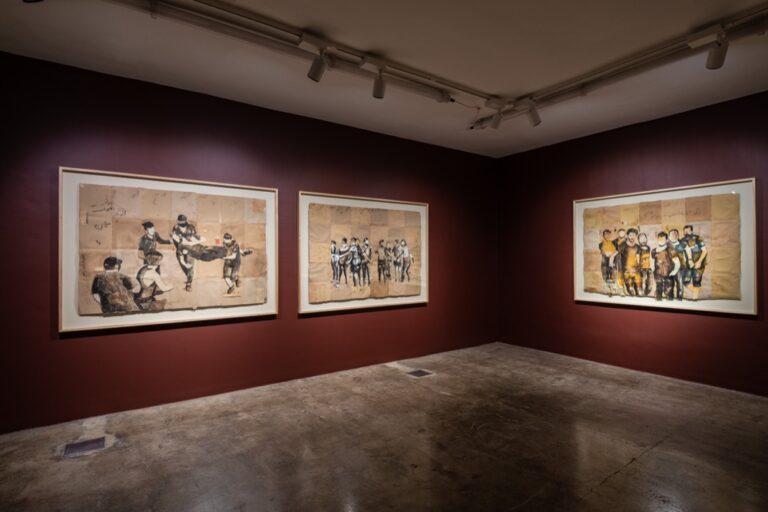 نمایشگاه «انا راجع» - «باز خواهم گشت» | مجتبی امینی | گالری محسن