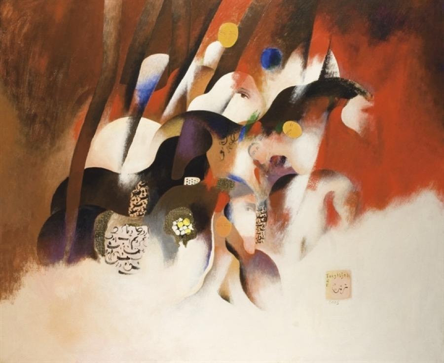 Artworks by Mohammed Ali Taraghijah | آثار محمد علی ترقیجاه