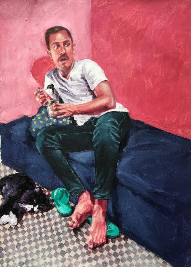 اثر غزل مروی در گالری هما | ghazal marvi artwork